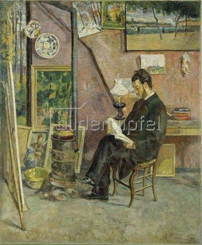 Jean-Baptiste Armand Guillaumin: Doktor Martinez im Atelier des Künstlers. 1878