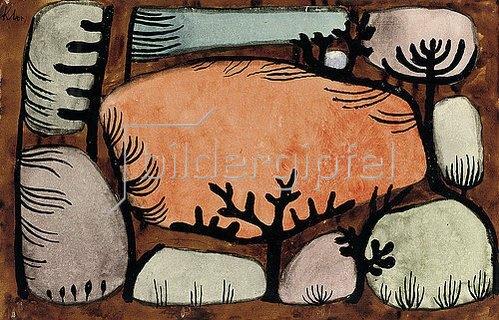 Paul Klee: Der Tag im Wald. 1935.