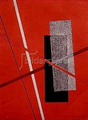 László Moholy-Nagy: Platte 4 aus der Serie Konstruktionen.