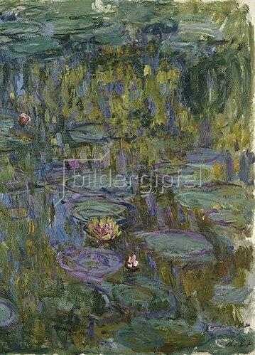 Claude Monet: Seerosen (Nymphéas).