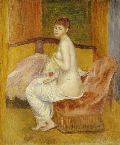 Auguste Renoir: Junger weiblicher Akt, sitzend. 1885