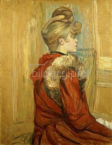 Henri de Toulouse-Lautrec: Jeanne Fontaine. 1891