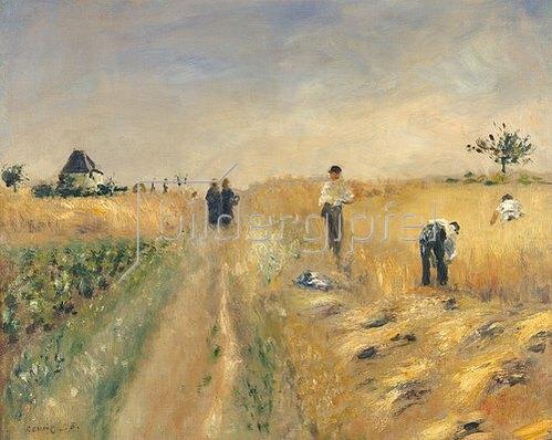 Auguste Renoir: Die Schnitter. 1873.