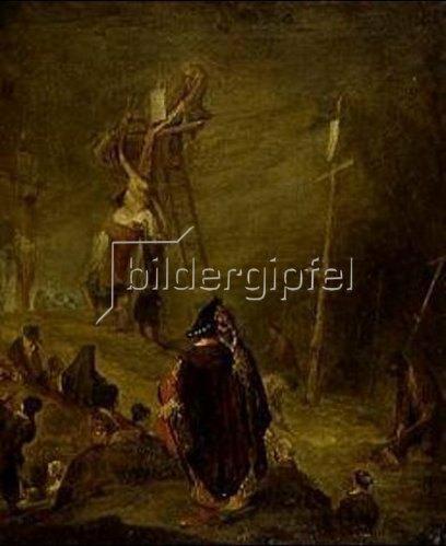 Aert de Gelder: Kreuzabnahme Christi.
