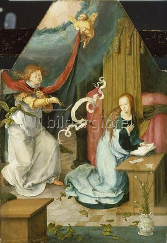 Lucas van Leyden: Verkündigung an Maria.
