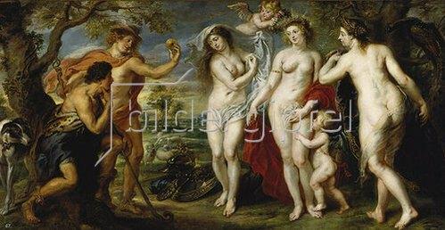 Peter Paul Rubens: Das Urteil des Paris. 1638/39