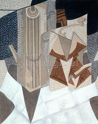 Juan Gris: Die Kaffeemühle. 1916.