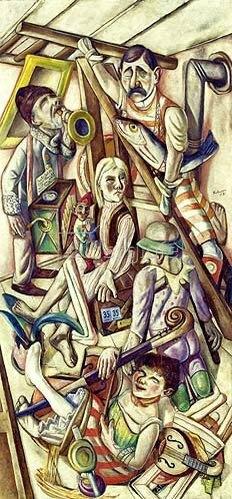 Max Beckmann: Der Traum. 1921.