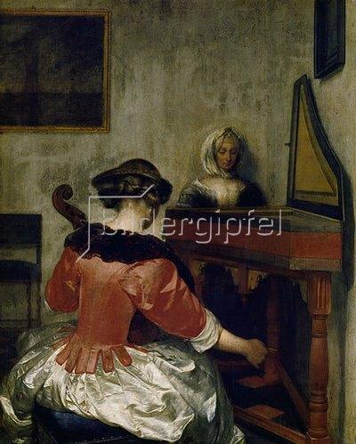 Gerard ter Borch: Das Konzert. Um 1675