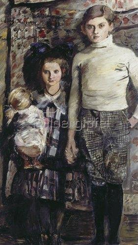 Lovis Corinth: Thomas und Wilhelmine. 1916.
