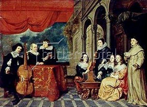 Gonzales Coques: Die Familie James van Eyck. 1650/59.