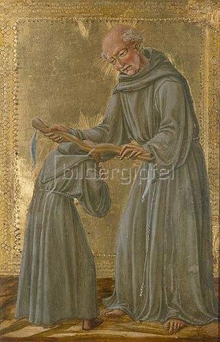 Il Vecchietta (P.di Lorenzo): Das Ordensgelübde des Gehorsams.