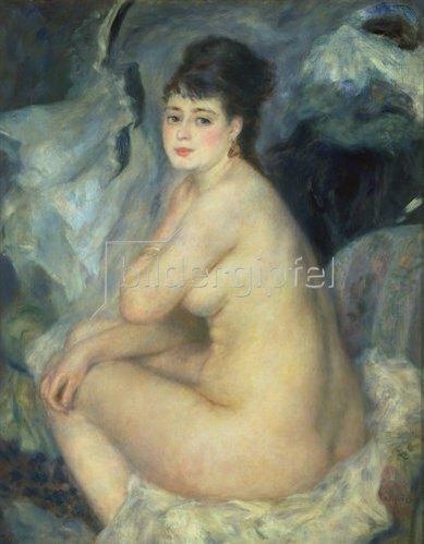 Auguste Renoir: Weiblicher Akt (Anna). 1876.