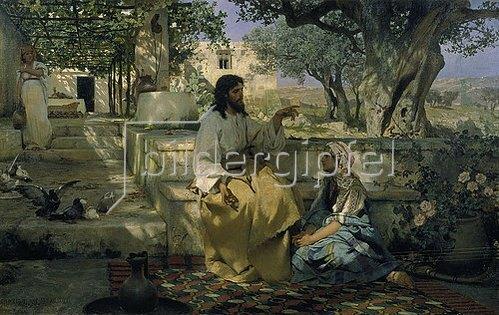 Genrikh Ippolitovich Semiradski: Christus und die Sünderin.