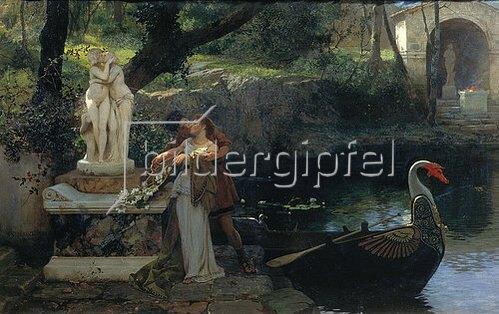 Genrikh Ippolitovich Semiradski: Nach dem Vorbild der Götter. 1879