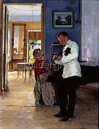 Wladimir J Makovskij: Die Liebeserklärung. 1889/1891.