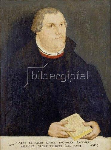 Lucas Cranach d.Ä.: Bildnis Martin Luther