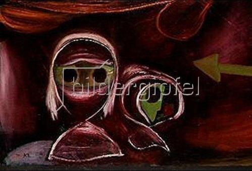 Paul Klee: Schicksal zweier Schwestern. 1922.
