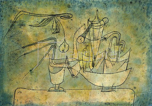 Paul Klee: Birnen-Destillation. 1921 /10
