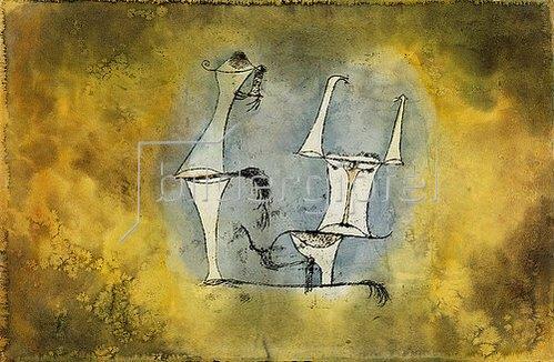 Paul Klee: Ur-Welt-Paar. 1921 /135.
