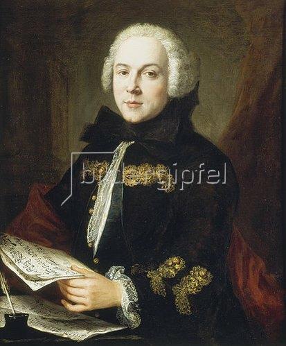 Jean Etienne Liotard: Luigi Boccherini im Alter von ca. 21 - 24 Jahren. Entstanden ca. 1764/67.