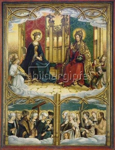 Hans Burgkmair d.Ä.: Allerheiligen-Altar. Mitteltafel. Nadelholz