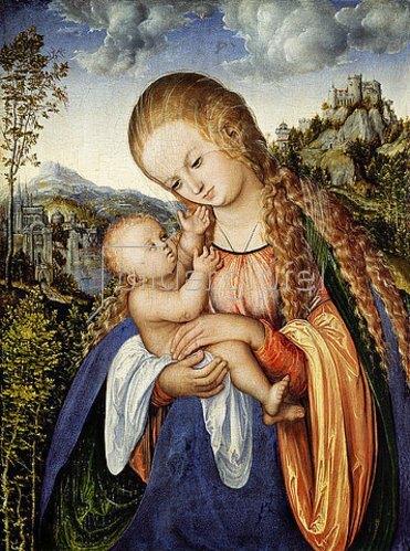 Lucas Cranach d.Ä.: Maria mit dem Kinde. Um 1518.