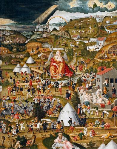 Matthias Gerung: Melancholie. 1558.