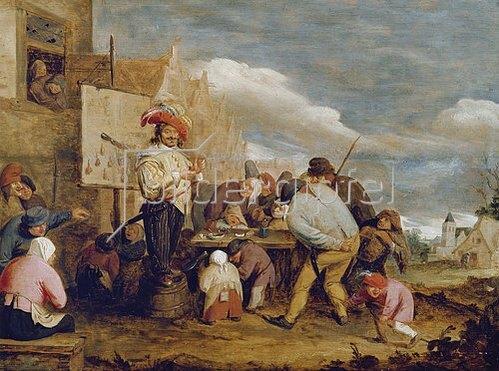 Adriaen Brouwer: Der Quacksalber. Um 1625.