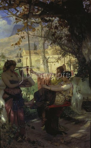 Genrikh Ippolitovich Semiradski: Das Lied der Sklavin. 1884.
