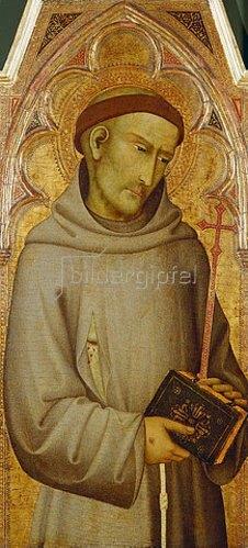 Andrea di Vanni d Andrea: Der hl. Franziskus.