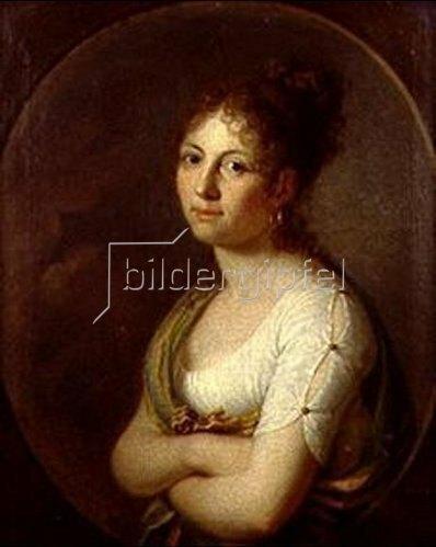 Margarethe Geiger: Selbstbildnis 1804.