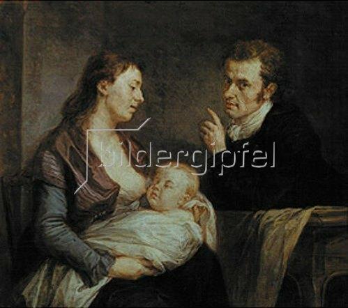 Johann Georg Edlinger: Familienbildnis. 1795/1800.