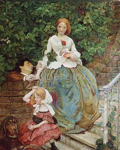 Ford Madox Brown: Stufen der Grausamkeit. 1856/90
