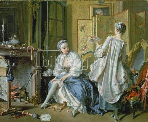 François Boucher: La Toilette. 1742.