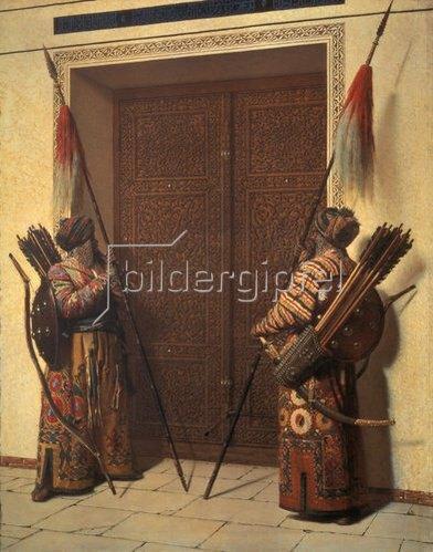 Wassili Werestschagin: Die Türen des Timur-Mausoleums in Samarkand. 1871/72