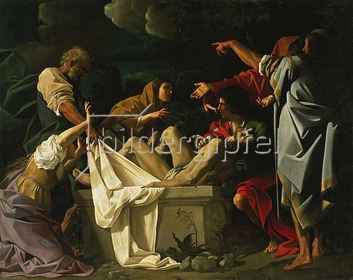 Bartolomeo Schidone: Grablegung Christi.