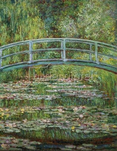 Claude Monet: Japanische Brücke. 1899.