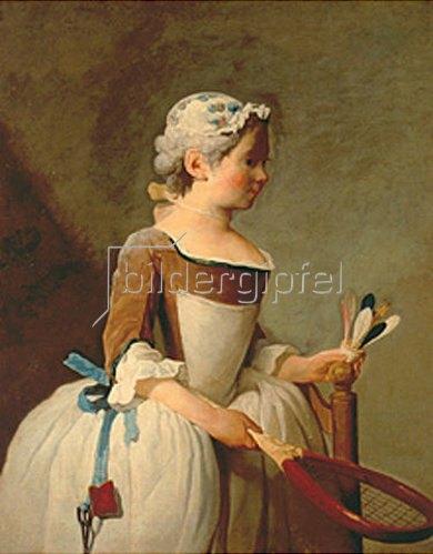 Jean-Baptiste Siméon Chardin: Mädchen mit Federball