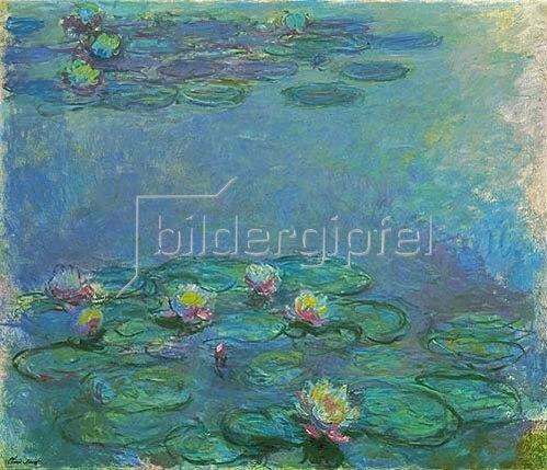 Claude Monet: Nymphéas. 1914/1917