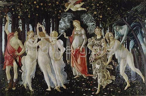 Sandro Botticelli: Der Frühling. 1478
