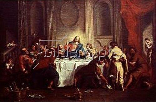 Nicola Grassi: Das letzte Abendmahl.