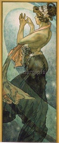Alfons Mucha: Sterne: Der Polarstern. 1902
