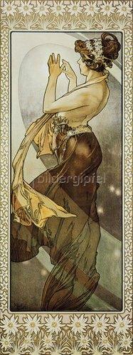 Alfons Mucha: Sterne: Der Polarstern. 1902. (Variante B).