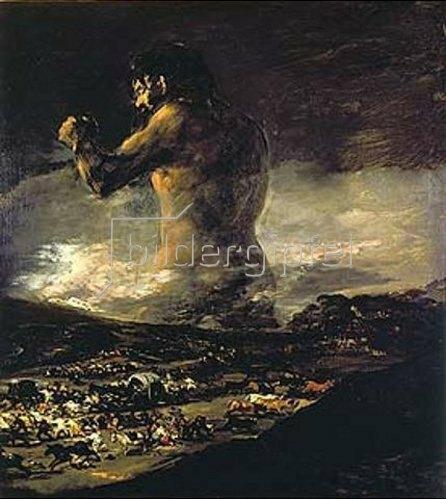 Francisco José de Goya: Der Koloss. 1808/1812.