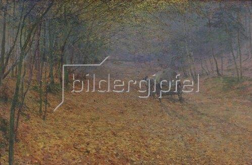 Antonin Slavicek: Im Herbstnebel. 1897.