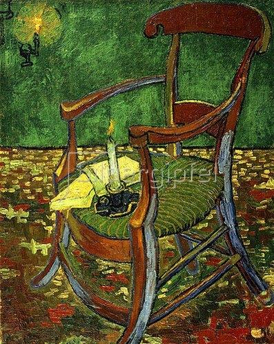 Vincent van Gogh: Gauguins Stuhl (mit Kerze). 1888.