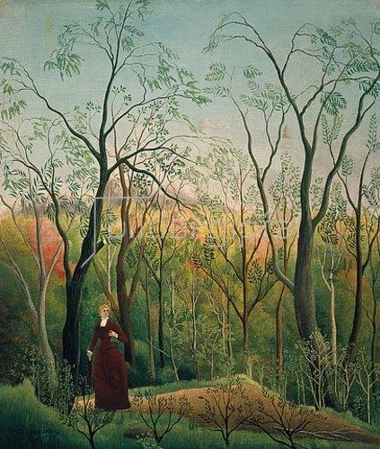 Henri Rousseau: Am Waldrand. Um 1886
