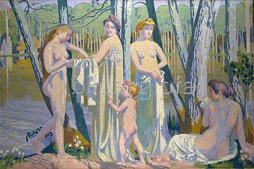 Maurice Denis: Die Badenden (Les Baigneuses). 1907