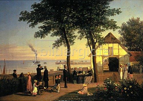 Andreas Thomas Juuel: Das alte Gasthaus in Vedboek.